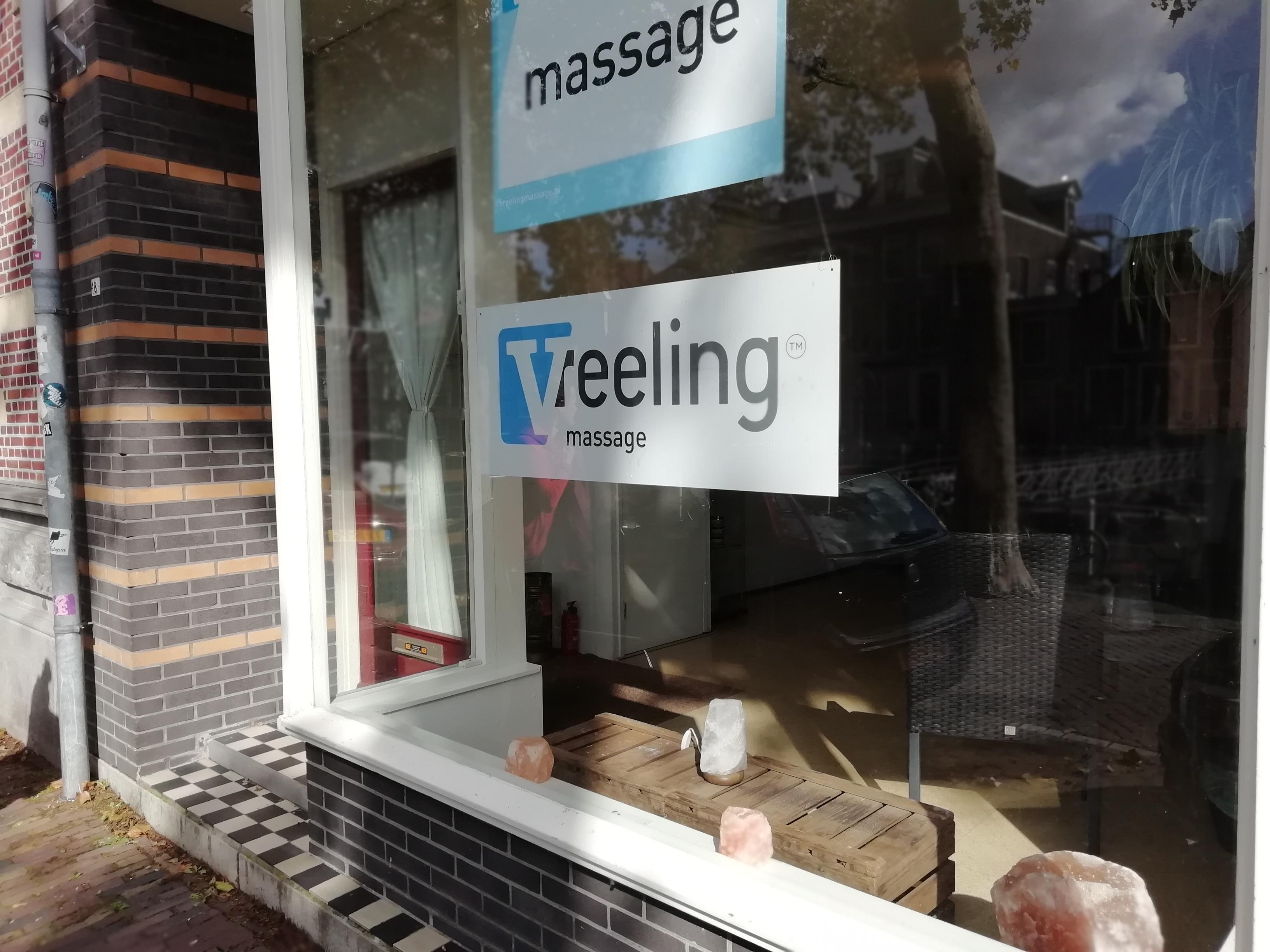 voorgevel winkel Vreeling Massage